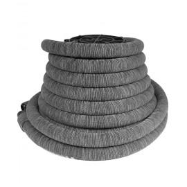Boyau pour aspirateur central - 18 m (50') - avec housse grise - Hide-A-Hose VX400114052VRET4