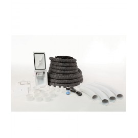 Complete Installation Kit for Hide-A-Hose System - 60' (85 m) Retractable Hose - for HS4000 Inlet