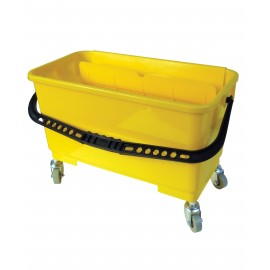 WINDOW CLEANING BUCKET - YELLOW - 21 L