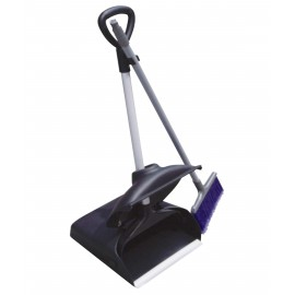 Dustpan with Long Handle and Lid