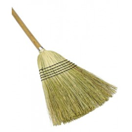 CORN BROOM - 4 STRINGS AND 1 METAL WIRE