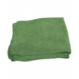 MICROFIBER CLOTH - 16' X 16' - GREEN