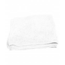 Multi-Purpose Microfiber Cloth - 16'' x 16'' (40.6 cm x 40.6 cm) - White