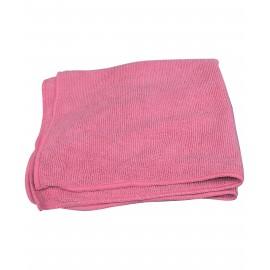 MICROFIBER CLOTH - 16' X 16'- PINK