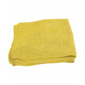 Multi-Purpose Microfiber Cloth - 16'' x 16'' (40.6 cm x 40.6 cm) - Yellow