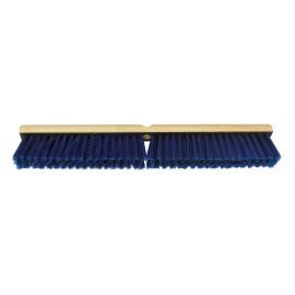 Balai-brosse commercial - 24'' (60,9 cm) - bleu