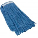 SYNTHETIC HEAD MOP - 24 OZ. - BLUE
