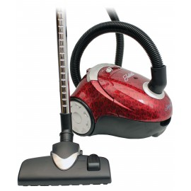 Canister Vacuum Cleaner, Johnny Vac # JULIETTE, Hepa Filtration, Adjustable Wand, Complete Set Of Brushes