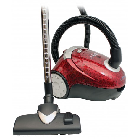 Canister Vacuum Cleaner, Johnny Vac, JULIETTE, Hepa Filtration, Telescopic Wand, Complete Set of Brushes