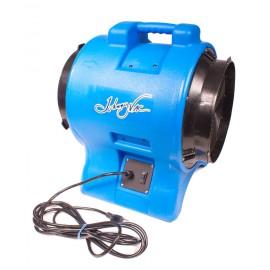 """Industrial Blower / Fan / Floor Dryer - Johnny Vac - Fan Diameter 12"""" (30.4 cm) - Sealed Motor - 1 speed - with Handle - Blue"""