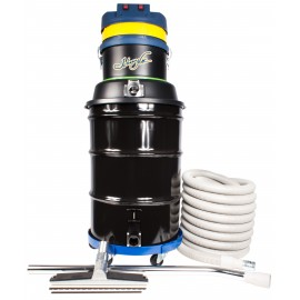 Wet & Dry Commercial Vacuum, Johnny Vac JV45G, Capacity of 45 Gallons, with Accessories & Dolly