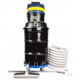 Wet & Dry Commercial Vacuum, Johnny Vac JV45G-3, Capacity of 45 Gallons, with Accessories & Dolly, 3 Motors