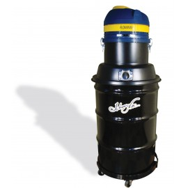 Wet & Dry Commercial Vacuum, Johnny Vac JV45G-M, Capacity of 45 Gallons, with Accessories & Dolly, Flowmix