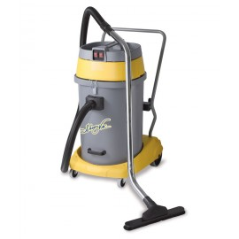 Wet & Dry Commercial Vacuum, Johnny Vac JV59P, Capacity of 15 Gal., with Accessories, HEPA, 2 Motors