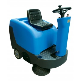 Motorized Industrial Sweeper, Johnny Vac JVC40SWEEP, Ride-On