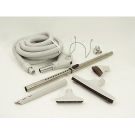 CENTRAL VACUUM KIT - 30' X 1 3/8 HOSE FRICTION - TELESCOPIC WAND WITH KI554