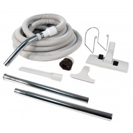 CENTRAL VACUUM KIT - 30' HOSE - TOOLS AND WAND