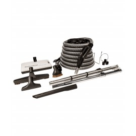 ELECTRICAL CENTRAL VACUUM KIT 35' WITH SWEEP N GROOM
