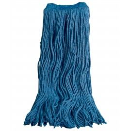 FLAT MOP HEAD - 70% COTTON 30% SYNTHETIC - 24 OZ (650 G) - BLUE