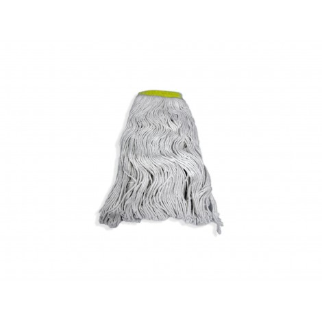 String Mop Replacement Head - Washing Mops - 24 oz (650 g) - White - Select FSS24