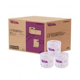 "Standard Bathroom Tissue - 2 Ply - 4.25"" x 3.8"" (10.8 cm x 9.7 cm) - Box of 48 Rolls of 420 Sheets - White - Cascades Pro B021"
