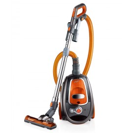 Canister Vacuum Cleaner PARKE with Cyclonic Technology, Bagless, Turbo Brush, Handle with Digital Switch and Complete Brushes