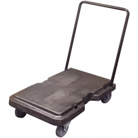 PLATFORM TROLLEY WITH DROP DOWN HANDLE