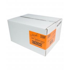 """Sacs à poubelle / ordures commercial - robuste - 35"""" x 50"""" (88,9 cm x 127 cm) - noir - boîte de 250"""