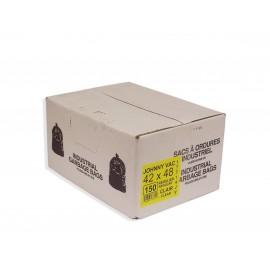 GARBAGE BAG - REGULAR - 42'' X 48'' - CLEAR - BOX/150
