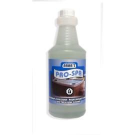 Nettoyant à calcaire pour spa et picscine - 160 oz (1 L) - Brab's 136701