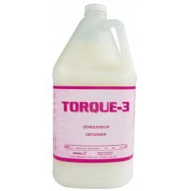 Agent antimousse Torque-3 contenant de 4 L pour éliminer l'excès de mousse