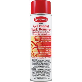 Gel Vandal Mark Remover - 15 oz (425 g) - Sprayway 880W