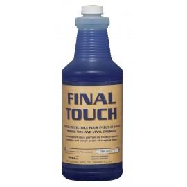 Finition protectrice pour pneu et vinyle - antistatique - 33,3 oz (946 ml) - Final Touch