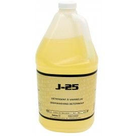"J-25"" - LIQUID DETERGENT WITH DEGREASER - FOR HAND DISHWASHING - 25% CONCENTRATED - 4 L"
