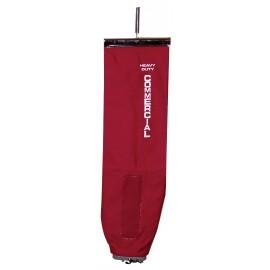 Sac en toile rouge pour aspirateurs verticaux Sanitaire