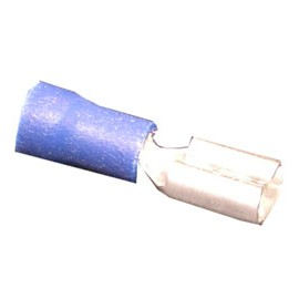 FEMALE 16-14 ELECTRIC TERMINAL - BLUE - PKG/100