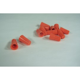 ELECTRIC WIRE CONNECTOR 31 - ORANGE - PKG/100