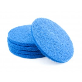 "FLOOR MACHINE PADS - FOR SUPER SCRUBBING - 13"" - BLUE - BOX/5"