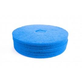 """Tampons pour polisseuse à plancher - nettoyant - 16"""" (40,6 cm) - bleu - boîte de 5 - 66261054243"""