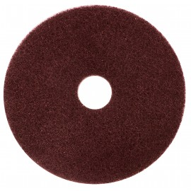 "FLOOR MACHINE PADS - FOR STRIPPING - 17"" - DOMINATOR - BURGUNDY - BOX/5"