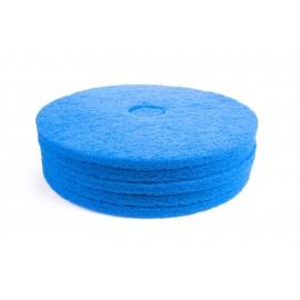 """Tampons pour polisseuse à plancher - nettoyant - 18"""" (45,7 cm) - bleu - boîte de 5 - 66261054245"""