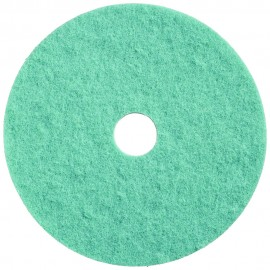 FLOOR MACHINE PAD - FOR BURNISHING - 20 - AQUA - BOX /5