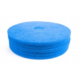 FLOOR MACHINE PAD - FOR SCRUBBING - 20 - BLUE - BOX/5