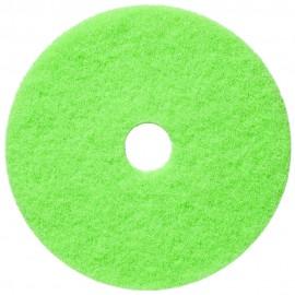 """Tampons pour polisseuse à plancher - pour brunissage à haute vitesse - 20"""" (50,8 cm) - menthe douce - boîte de 5 - 66261014164"""