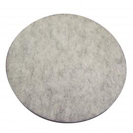 """Tampons pour polisseuse à plancher - pour brunissage à haute vitesse - 20"""" (50,8 cm) - fibre naturelle - boîte de 5 - 66261057804"""