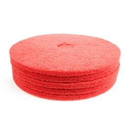 """Tampons pour polisseuse - pour lustrer - 21"""" - rouges - bte / 5 Norton 66261054280"""
