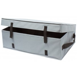 "STORAGE BOX FOR ACCESSORIES OF VACUUM CLEANER WITH BELTS AND HANDLE - 18 X 24"" X 8"