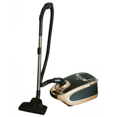 Canister Vacuum Cleaner XV10 from Johnny vac. Set of Brushes, Full Bag Indicator, HEPA filtration, and digital control