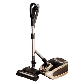 Canister Vacuum Cleaner - Power Nozzle with Height Adjustment - Digital Control - HEPA Filtration - Set of Brushes