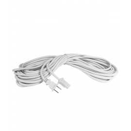 35' HOSE EXTERNAL CORD FOR CENTRAL - 2 WIRES - WHITE